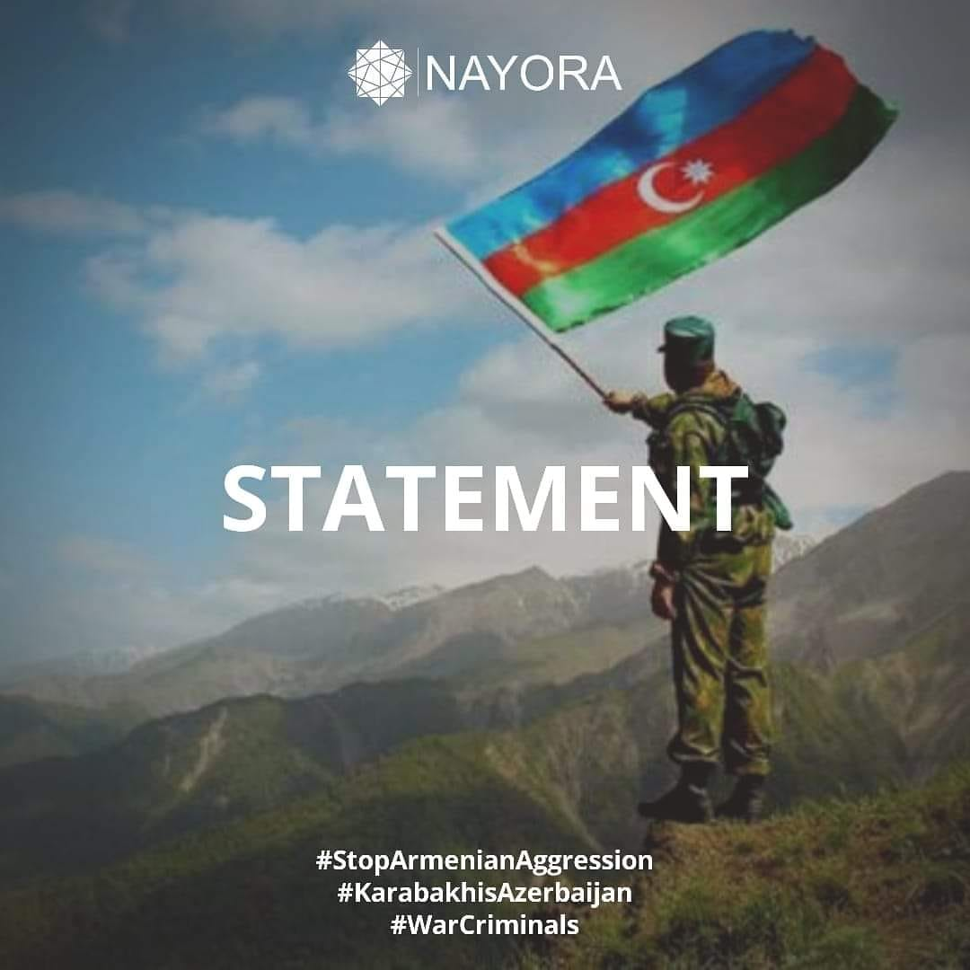 Statement of the National Council of Youth Organizations of the Republic of Azerbaijan