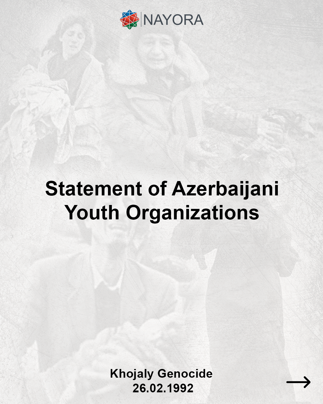 Statement on behalf of Youth NGOs of the Republic of Azerbaijan
